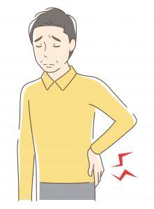 腰痛示意圖