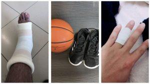 籃球與我的傷